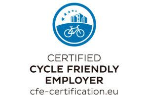 Certified Cycle friendly employer